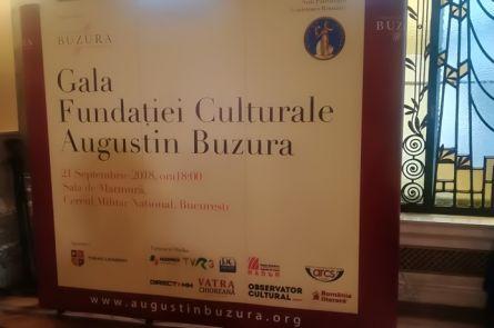 Proiecte îndrăzneţe, premii şi emoţii la prima ediţie a Galei Fundaţiei Culturale Augustin Buzura